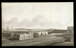 A View of Calcutta from Fort William 2343